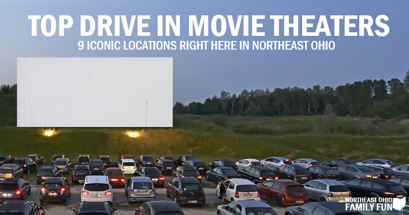 Top 9 Drive In Movie Theaters In Northeast Ohio With Interactive Map