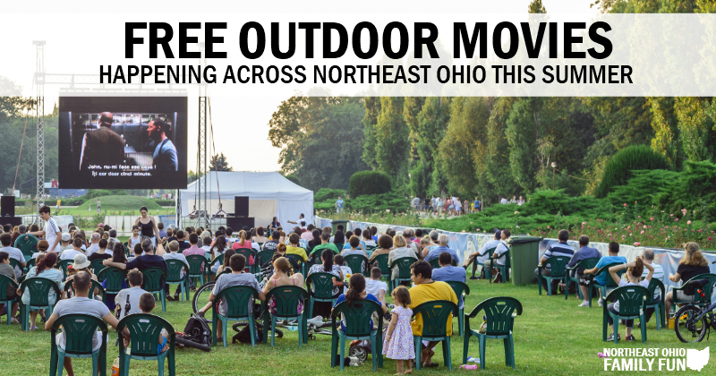 Free Outdoor Movies in Northeast Ohio