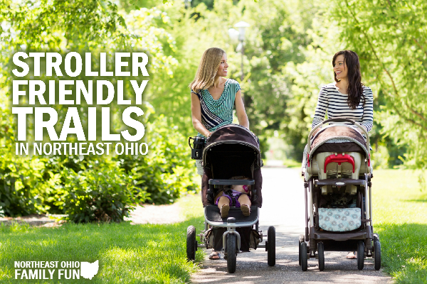 Stroller Friendly Trails in Northeast Ohio