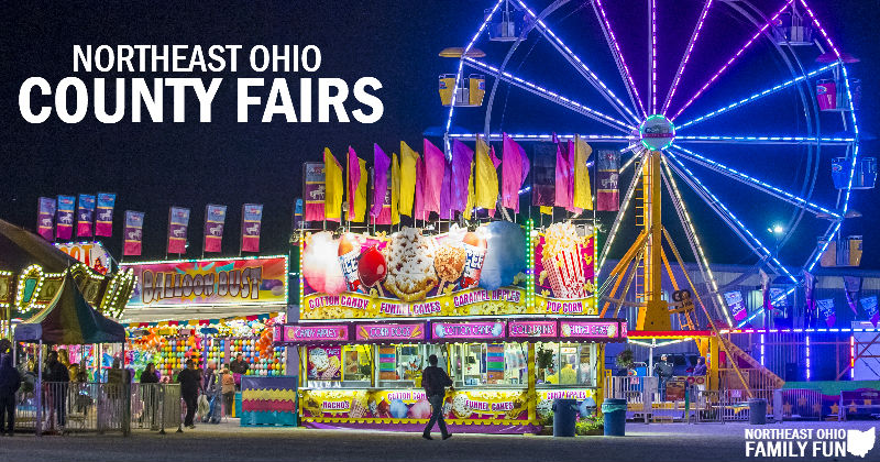 Northeast Ohio County Fairs