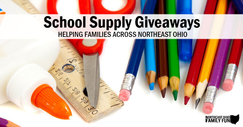 School Supply Giveaways in Northeast Ohio