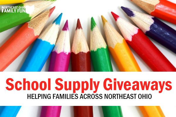 FREE School Supply Giveaways Across Northeast Ohio