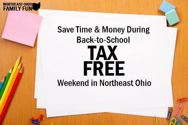 Tax Free Weekend Northeast Ohio