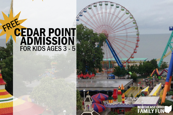 FREE Admission to Cedar Point for Kids with Cedar Point Pre-K Pass