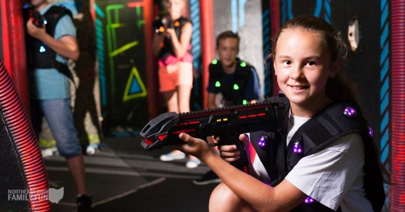 Laser Tag in Northeast Ohio – Indoor Spot, Outdoor Options and Laser Tag Rentals