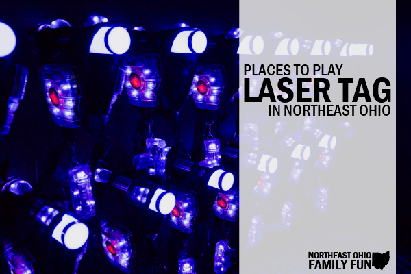 Places to Play Laser Tag Northeast Ohio