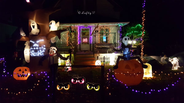 Halloween Display in Lorain