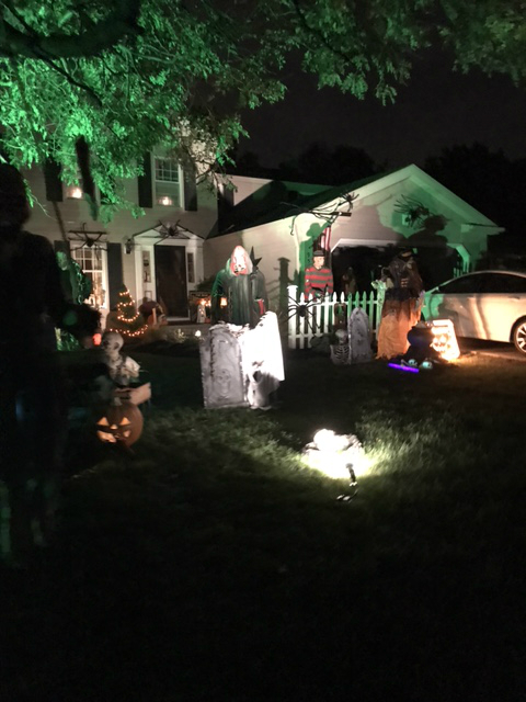 spooky halloween yard haunt walk or drive by 2017 update the display will be up for all to enjoy when nightly through halloween weather permitting