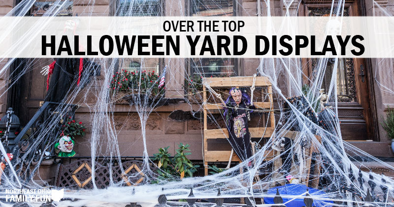 Must See Halloween Yard Displays in Northeast Ohio
