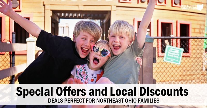 Special Offers & Local Deals Perfect for Northeast Ohio Families