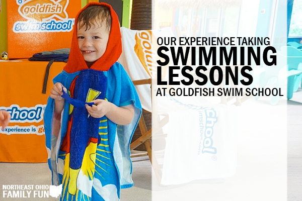 Our Experience Taking Swimming Lessons at Goldfish Swim School