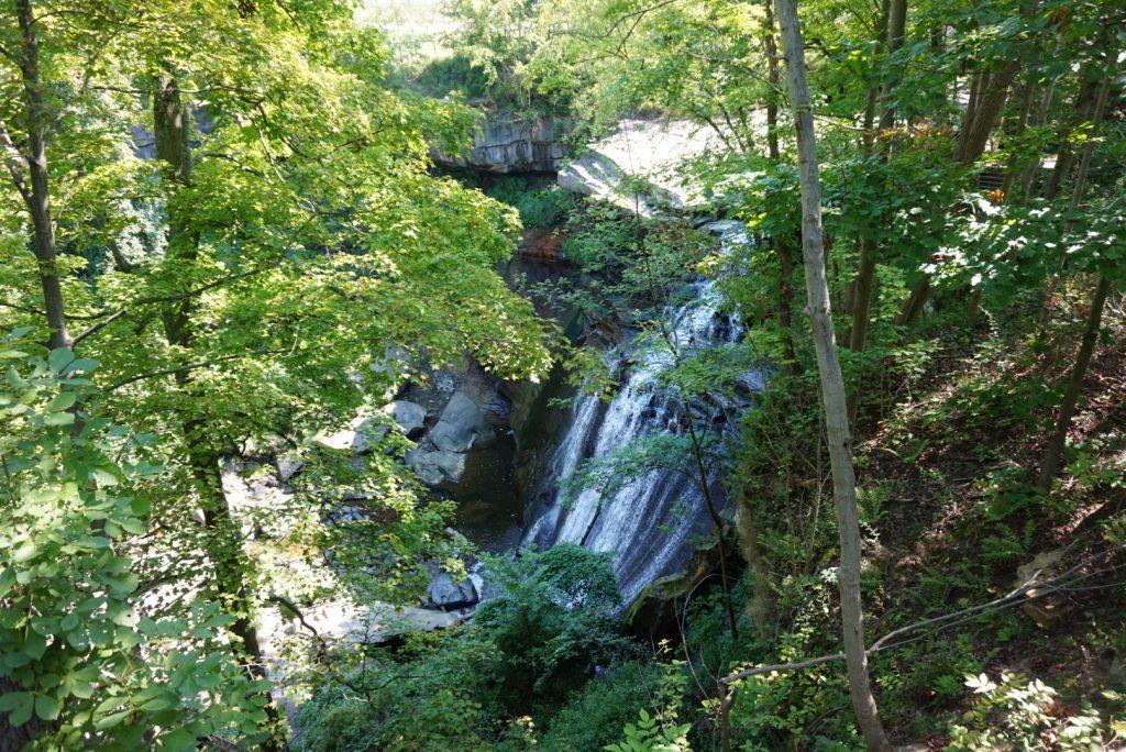 Brandywine Falls Overhead View