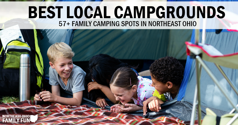 Best Campgrounds in Northeast Ohio with Interactive Map!