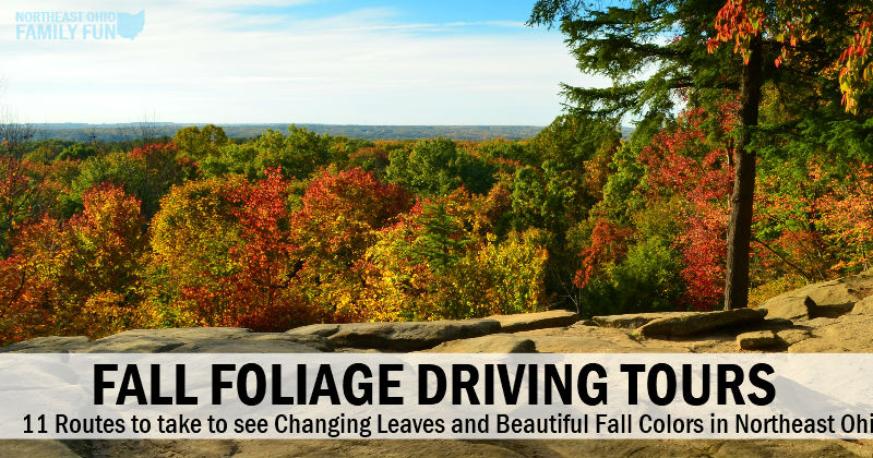 Fall Foliage Driving Tours in Northeast Ohio