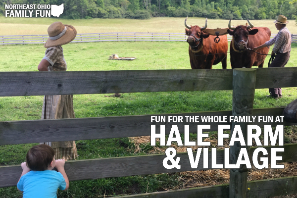 Hale Farm and Village Ohio Review