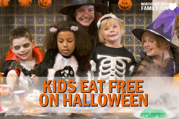 Kids Eat Free Halloween Northeast Ohio