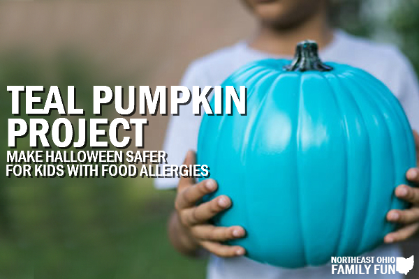 Teal Pumpkins Project – Make Halloween Safer for Kids with Food Allergies