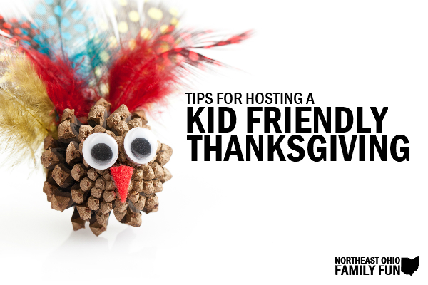 Tips for Hosting a Kid Friendly Thanksgiving