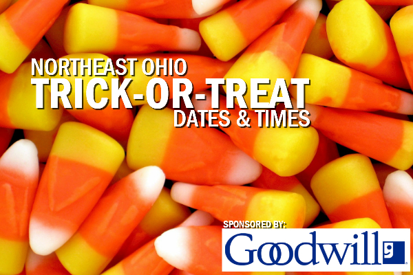 Trick-or-Treat 2018 – Dates, Times and Locations in Northeast Ohio