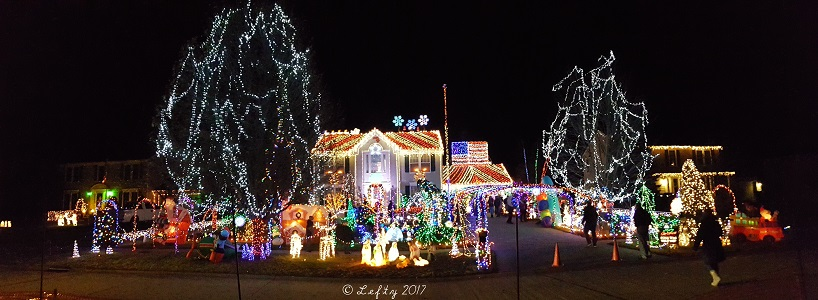 Bob Mangan's 2017 Winter wonderland in North Ridgeville