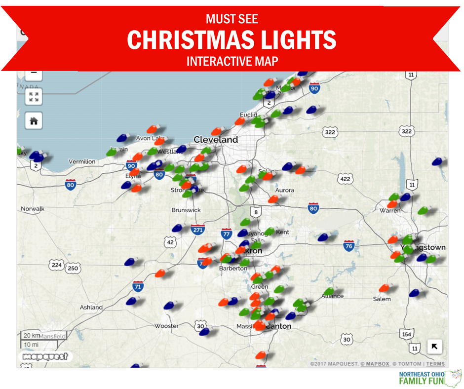 Christmas Lights Map