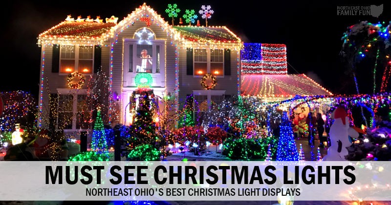 christmas light displays northeast ohio