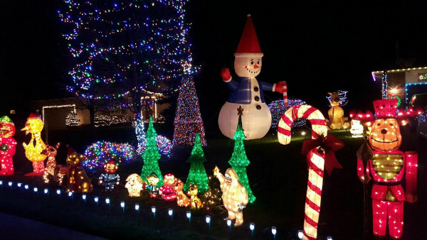 Rus Family Musical Light Display