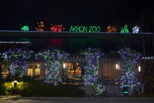 Review: Akron Zoo's Wild Lights