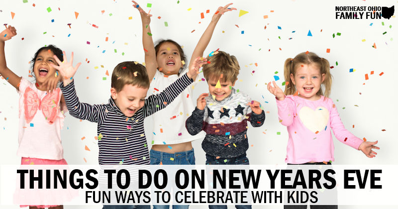 Things to do on New Years Eve with Kids