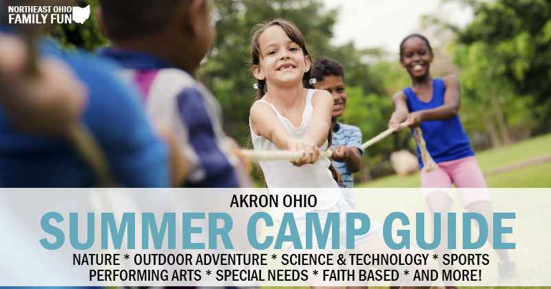 2019 Summer Camps in Akron Ohio