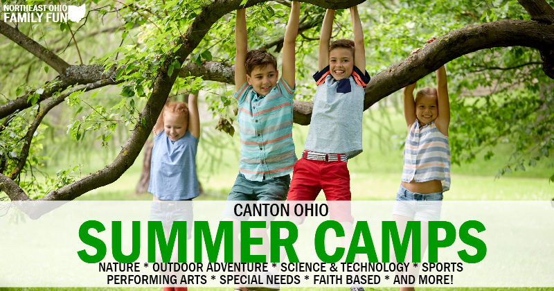 2019 Summer Camps in Canton Ohio