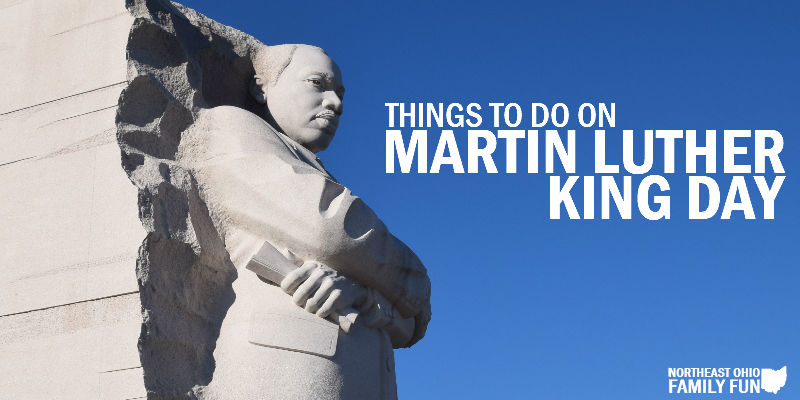 Things to do on Martin Luther King Day
