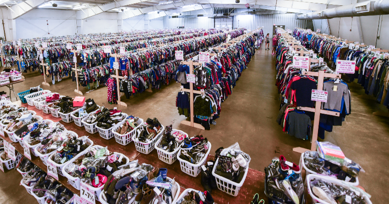 Save Big on Kids Clothing Toys and More at The Big Red Wagon Consignment Sale