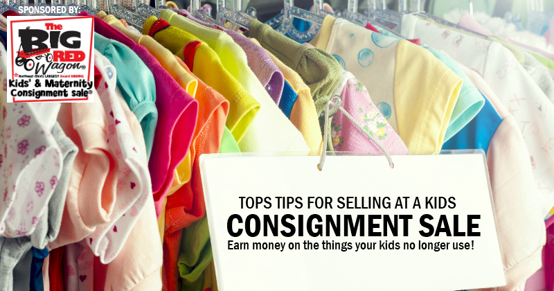 Selling at a Kids Consignment Sale – Top Tips to Make it Easy & Profitable