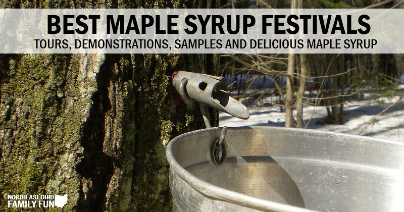 Deliciously Sweet Maple Syrup Festivals in Northeast Ohio {2020}