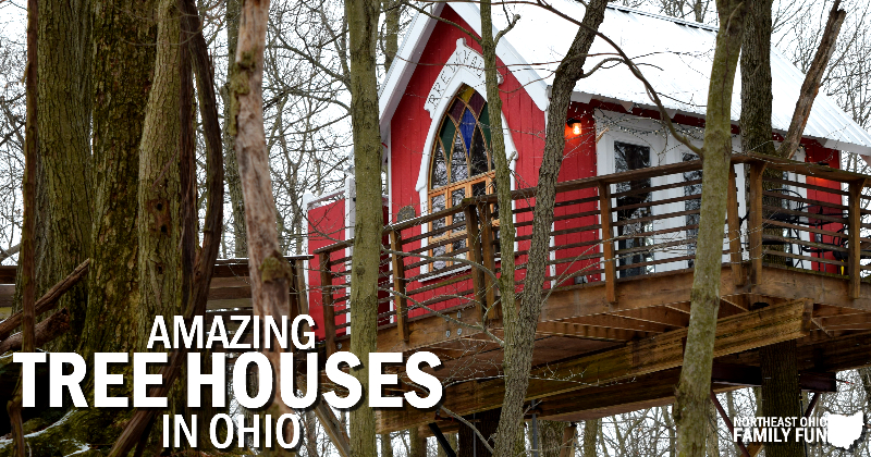Amazing Tree houses in Ohio – Including Video Tour of the Moonlight Treehouse at The Mohicans