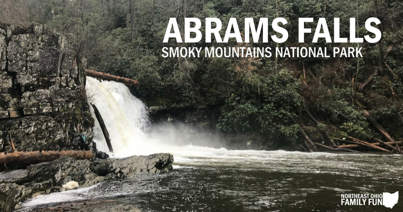 Abrams Falls Trail in Smoky Mountains
