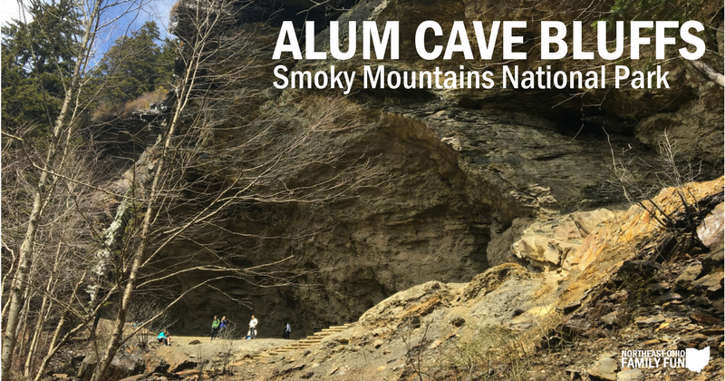 Alum Cave Bluffs in the Smoky Mountains