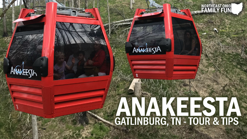 Family Friendly Fun at Anakeesta in Gatlinburg, TN – including Video Tour!