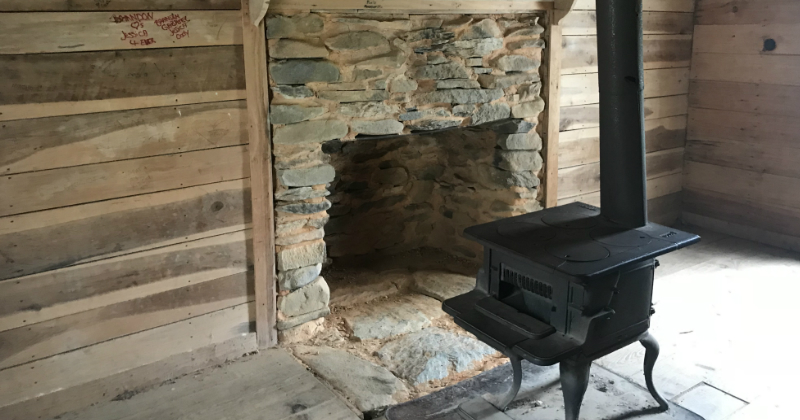 Inside a Historic Home at Cades Cove Smoky Mountains