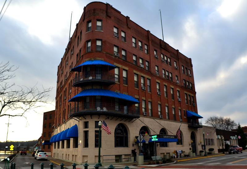 Lafayette Hotel in Marietta Ohio