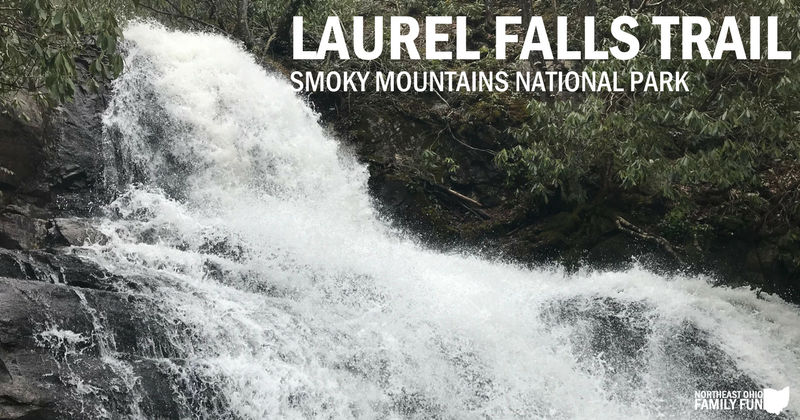 Laurel Falls Trail in Smoky Mountains