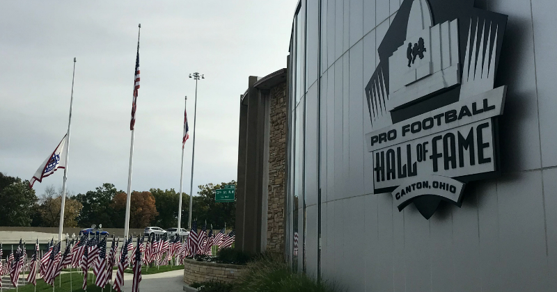 Pro Football Hall of Fame Canton Ohio