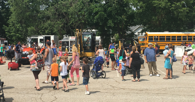 Cuyahoga Falls Touch a Truck - Large View
