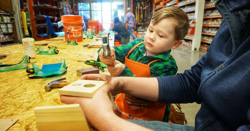 Home Depot - CHild Working