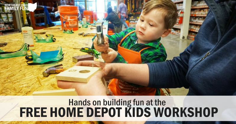 FREE Home Depot Kids Workshop – Fun Hands on Projects for Kids