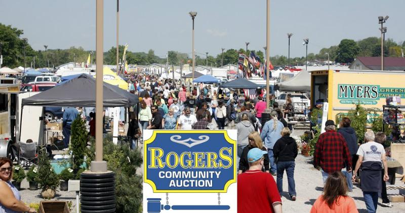 Rogers Flea Market Ohio
