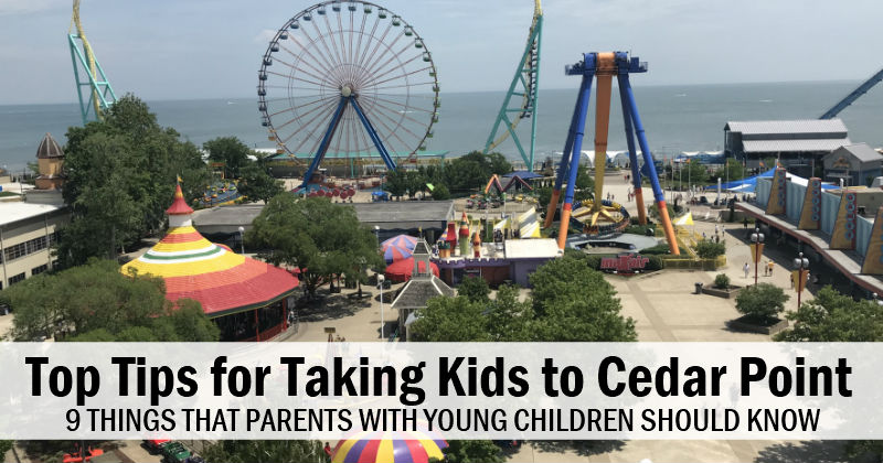 9 Tips for Visiting Cedar Point with Young Kids