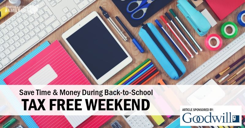 Ohio's Tax Free Weekend 2019 – How to Save Time & Money!