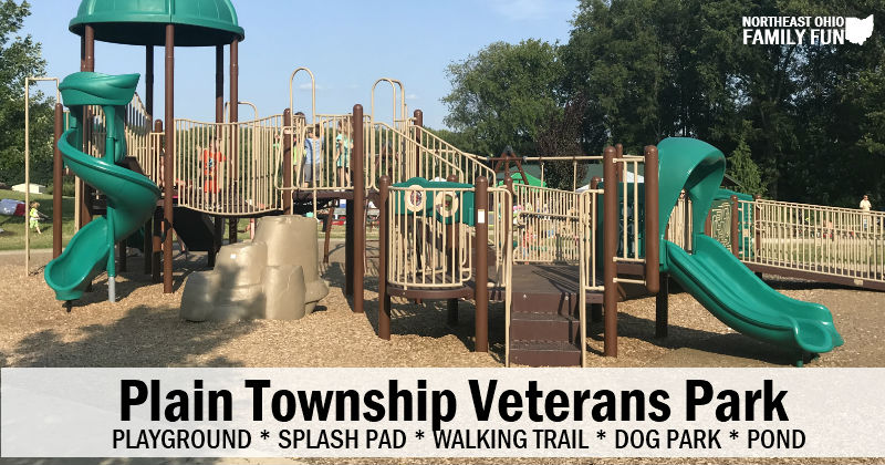 Plain Township Veterans Park – Large Playground, Splash Pad, Dog Park and More!